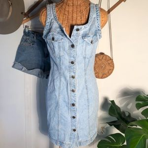 Vintage Georges Marciano for GUESS Denim Dress